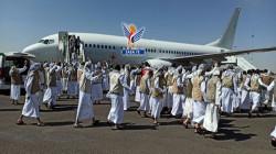 وصول 470 أسيراً من الجيش واللجان الشعبية إلى مطار صنعاء الدولي