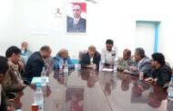 مناقشة إجراءات تنفيذ مركز الطوارئ التوليدية بمستشفى الثورة في إب