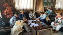 مناقشة سبل النهوض بالقطاع الزراعي بمحافظة إب