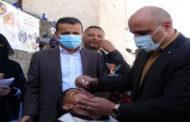 تدشين الحملة الوطنية للتحصين ضد شلل الأطفال في محافظة إب