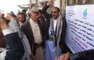 محافظ إب يفتتح ويضع حجر الأساس لعدد من مشاريع المياه