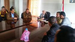 مناقشة خطة تطوير خدمات النظافة بمحافظة إب