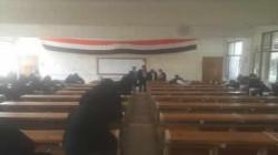 بدء اختبارات الشامل في برنامج الدكتوراه بكلية الآداب بجامعة إب