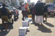 الحصار والعدوان ورحلة البحث عن الكتب المدرسية في أرصفة الشوارع