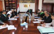 مجلس القضاء يطلع على تقرير إحصائية جرائم العدوان لعامي 2019- 2020م