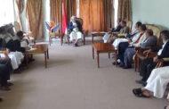 مناقشة التحضيرات النهائية للاختبارات بمحافظة إب