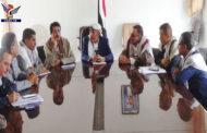 مناقشة آليات تحصيل وتنمية الموارد المالية بمحافظة إب