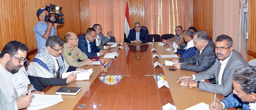 اللجنة العليا للاحتفالات تقر برنامج الاحتفالات بالعيد الوطني السابع لثورة 21 سبتمبر